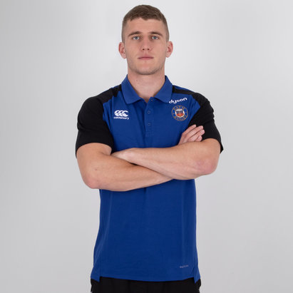 Bath 2018/19 Performance Cotton Rugby Polo Shirt