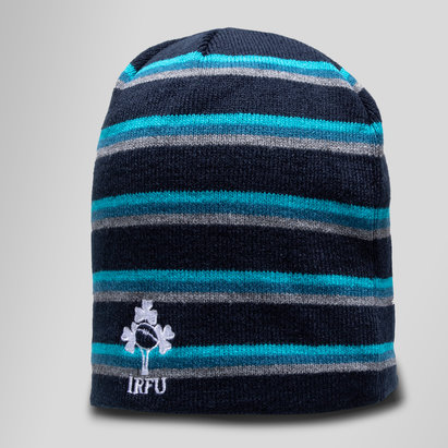 Ireland IRFU 2018/19 Fleece Rugby Beanie Hat