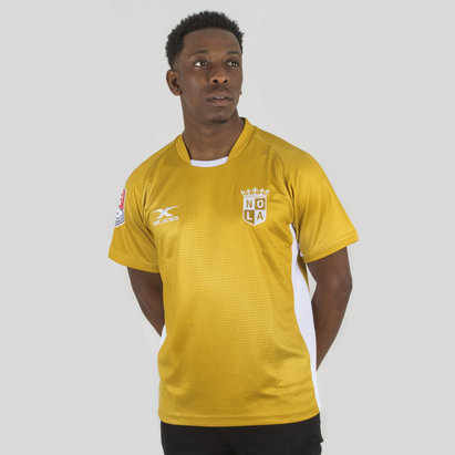 New Orleans Gold MLR 2018 Home S/S Rugby Shirt