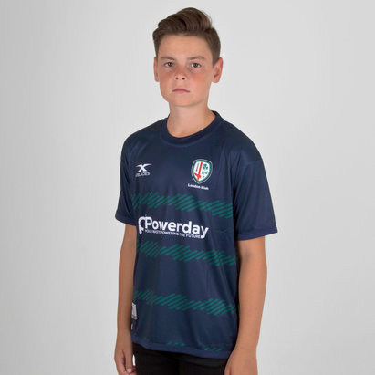 London Irish 2018/19 Kids Rugby Training T-Shirt