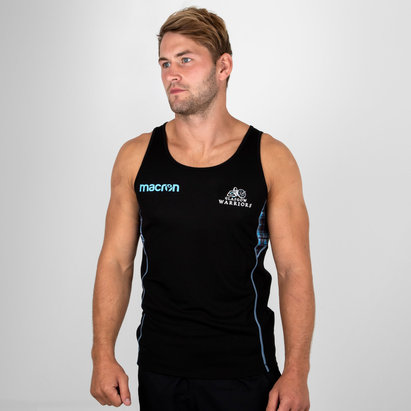 Glasgow Warriors 2018/19 Players Dry Rugby Training Singlet