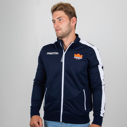 Edinburgh 2018/19 Players Full Zip Rugby Anthem Jacket