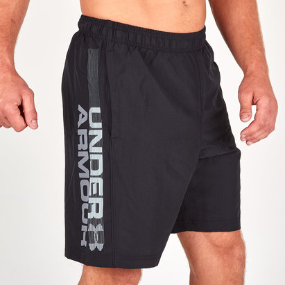 Woven Graphic Wordmark Training Shorts
