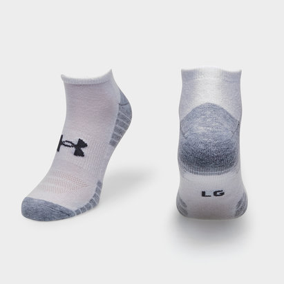 HeatGear Tech No Show Socks 3 Pack