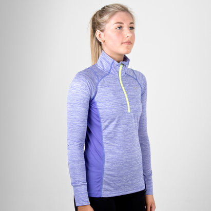 Alpha Ladies 1/2 Zip Training Top