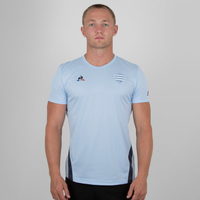 Racing 92 2018/19 Players Rugby Training T-Shirt