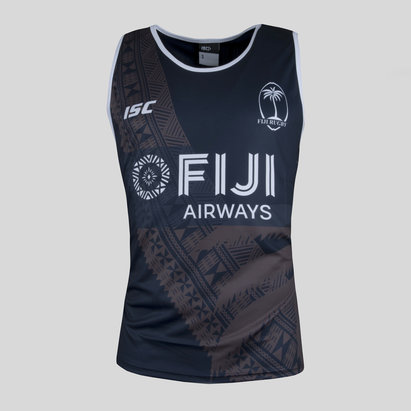 Fiji 7s 2017/18 Players Rugby Training Singlet