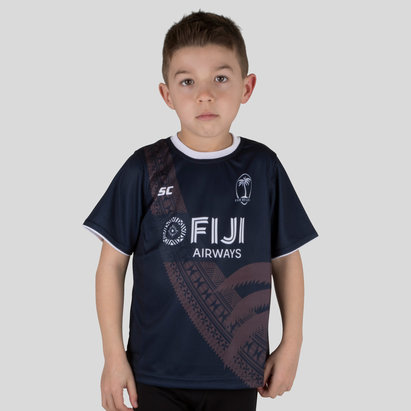Fiji 7s 2018/19 Kids Rugby Training T-Shirt