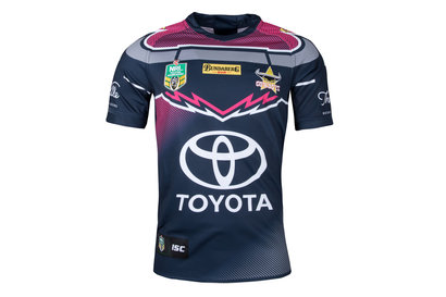North Queensland Cowboys NRL 2018 Women in League S/S Rugby Shirt