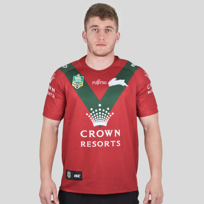 South Sydney Rabbitohs NRL 2018 Alternate S/S Rugby Shirt