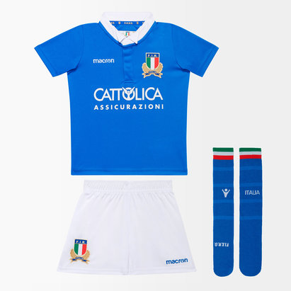 Italy 2018/19 Home Mini Kids Replica Rugby Kit