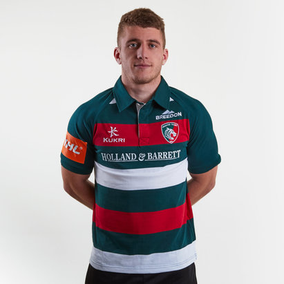 Leicester Tigers Polo Shirt Mens