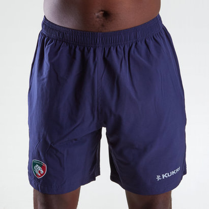 Leicester Tigers 2018/19 Players Woven Gym Rugby Shorts