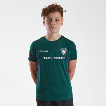 Leicester Tigers 2018/19 Kids Match Day Rugby T-Shirt