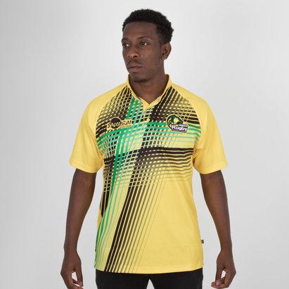 Jamaica 7s 2018 RWC Alternate S/S Replica Rugby Shirt