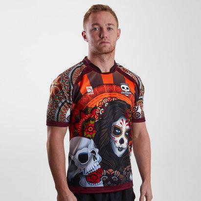 La Calaca Crushers 2019 Home S/S Rugby Shirt