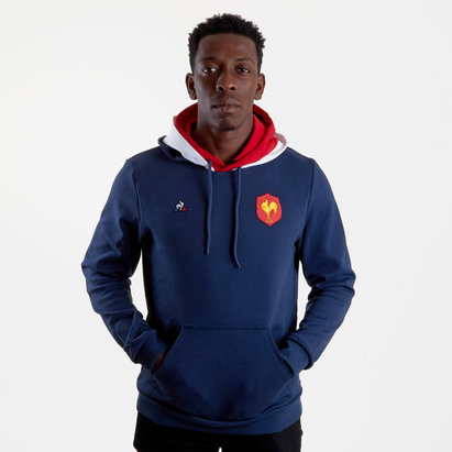 France 2018/19 Hooded Rugby Sweat