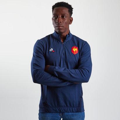 France 2018/19 Players Rugby Training Sweatshirt