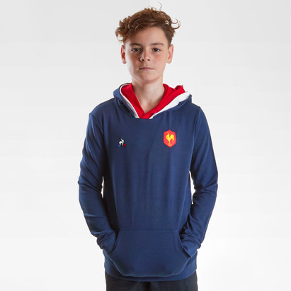 France 2018/19 Kids Hooded Rugby Sweat