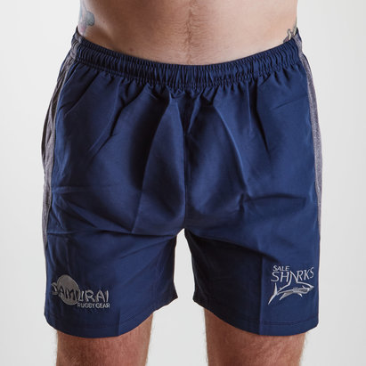 Sale Sharks 2018/19 Players Rugby Training Shorts