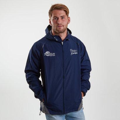 Sale Sharks 2018/19 Players Showerproof Rugby Jacket