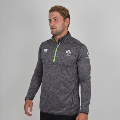 Ireland IRFU 2017/18 Players 1/4 Zip First Layer Rugby Training Top