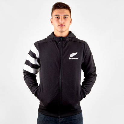 New Zealand All Blacks 2019/20 Full Zip Hooded Sweat