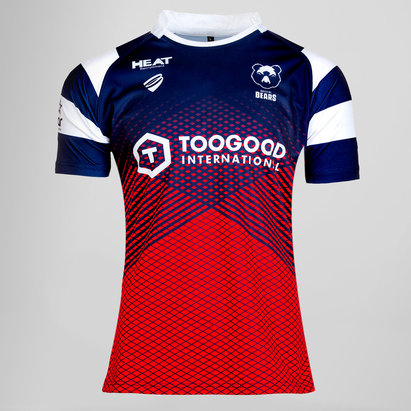 Bristol Bears 2018/19 Home Youth S/S Replica Rugby Shirt