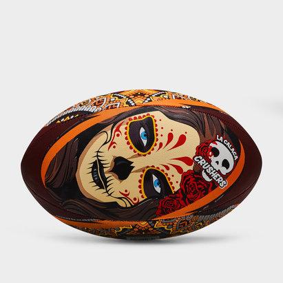 La Calaca Crushers Replica Rugby Ball