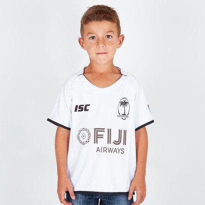 Fiji 2018/19 Kids Home S/S Replica Rugby Shirt