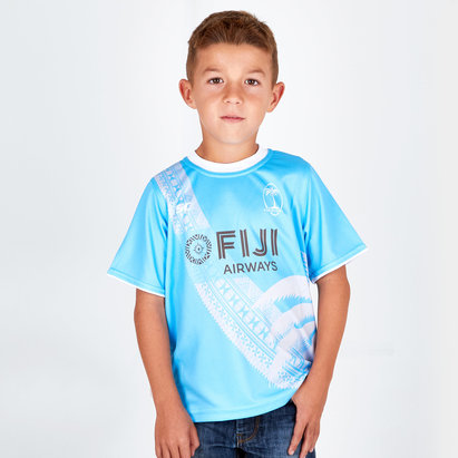 Fiji 2018/19 Youth Rugby Training T-Shirt
