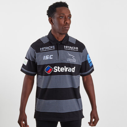Newcastle Falcons 2018/19 Home Cotton Rugby Shirt