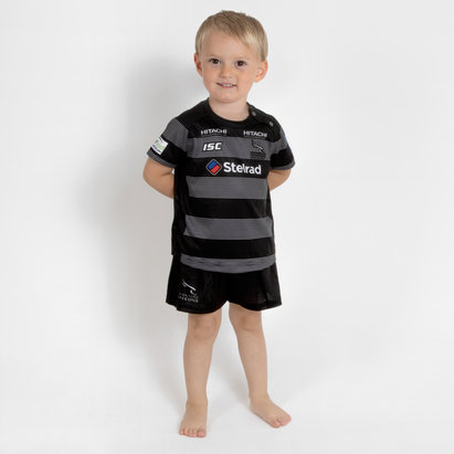Newcastle Falcons 2018/19 Infants Home Rugby Kit