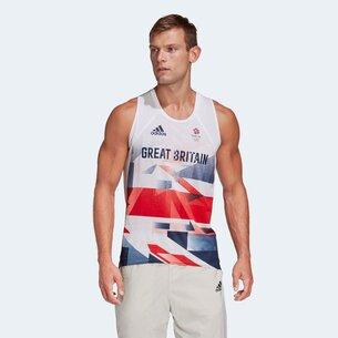 Team GB Mens Running Singlet