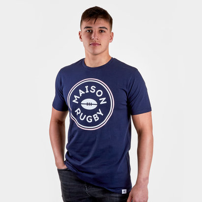 Maison Graphic Rugby T-Shirt