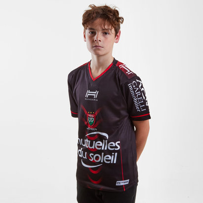 Toulon 2018/19 Kids Home S/S Replica Rugby Shirt