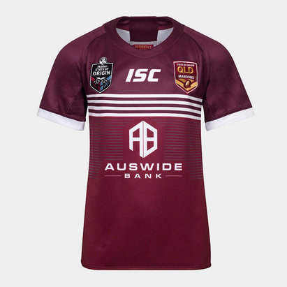 Queensland Maroons State of Origin 2019 Youth S/S Rugby League Shirt