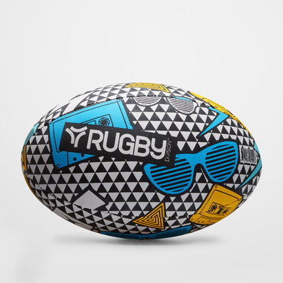 Brasilia Graphic Rugby Training Ball
