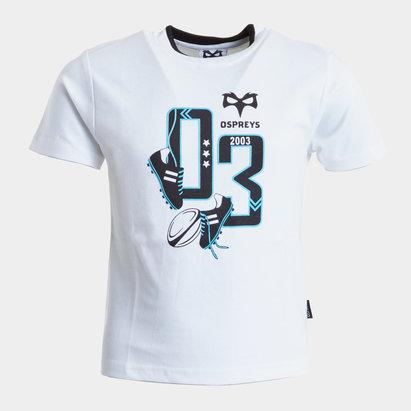 Ospreys Mini Kids Rugby T-Shirt