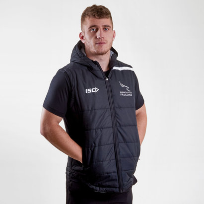 Newcastle Falcons 2017/18 Players Rugby Gilet