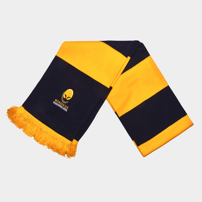 Worcester Warriors Bar Supporters Rugby Scarf