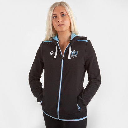 Glasgow Warriors 2019/20 Ladies Cotton Hooded Rugby Sweat