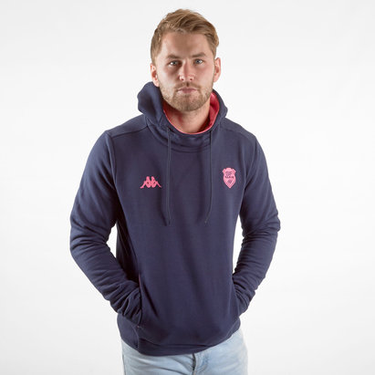 Stade Francais 2019/20 Players Hooded Rugby Sweat