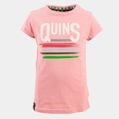Harlequins 2018/19 Girls Rugby T-Shirt