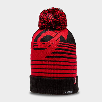 Dragons 2018/19 Bobble Rugby Hat