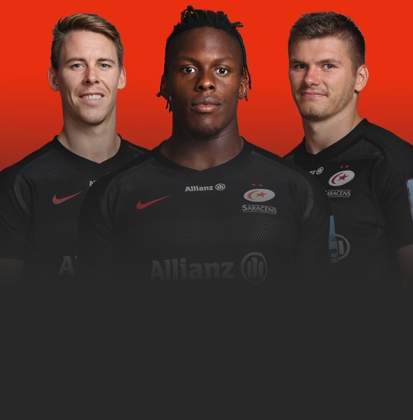83f9a0176ad20 Official Saracens Rugby Union Shirts