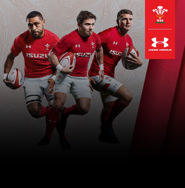 5d55437fce0 Official Wales Rugby Union Shirts, Tops & Kits   Lovell Rugby