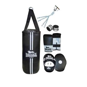 Lonsdale Contender Punchbag Boxing Boxset