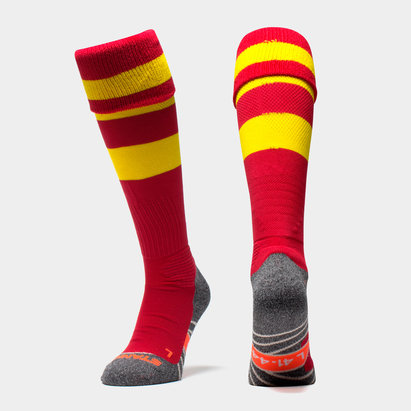 Original Hooped Match Sock Red/Yellow
