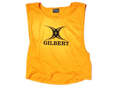 Polyester Training Bibs Yellow